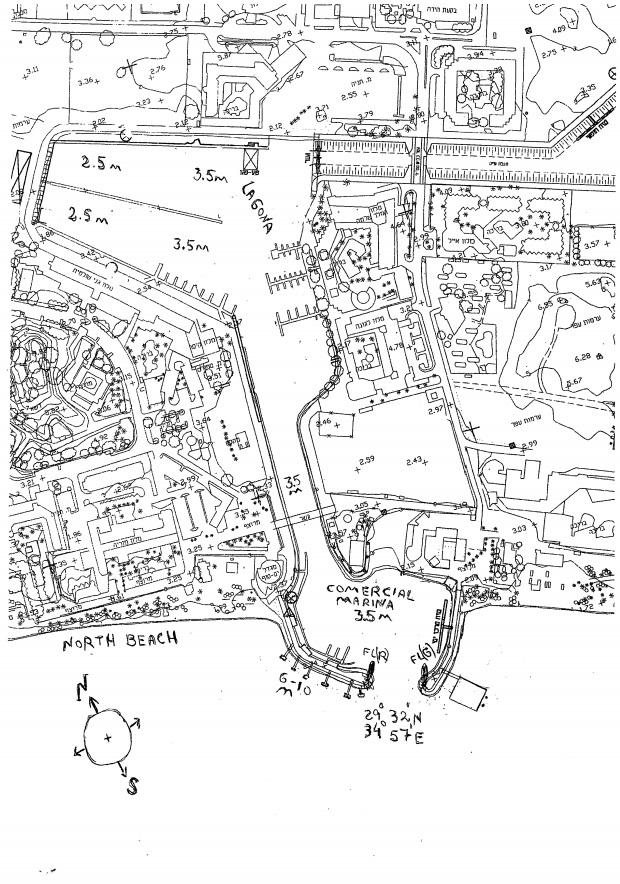מפת המרינה